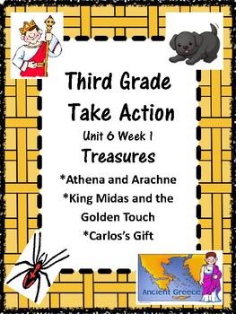 Wonders:  Grade 3 Unit 6.1 Treasures