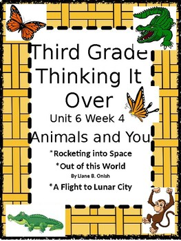 Wonders: Grade 3 Unit 6.4  Animals and You