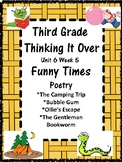 Wonders:  Grade 3 Unit 6.5 Funny Times