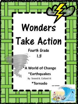 Wonders:  Grade 4 Unit 1.3:  Take Action