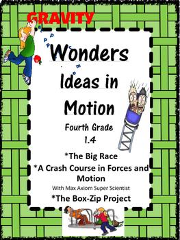 Wonders:  Grade 4 Unit 1.4:  Ideas in Motion