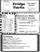 Wonders Grade 4 Unit 1 Newsletter