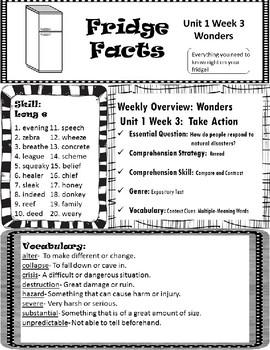 Wonders Unit 1