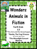 Wonders: Grade 4 Unit 2.2:  Animals in Fiction