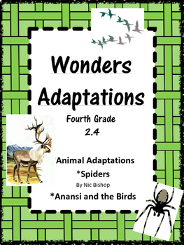 Wonders: Grade 4 Unit 2.4 Adaptations
