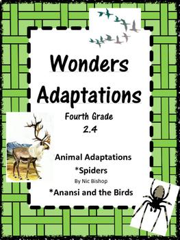 Wonders: Grade 4 Unit 2.4 Adaptations