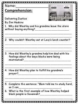 Wonders: Grade 4 Unit 3.3 Liberty and Justice