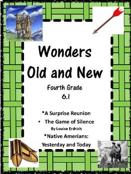 """Wonders"""" Grade 4 Unit 6.1 Old and New"""