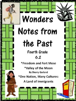Wonders:  Grade 4 Unit 6.2 Notes from the Past