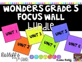 Wonders Grade 5 Focus Wall Bundle