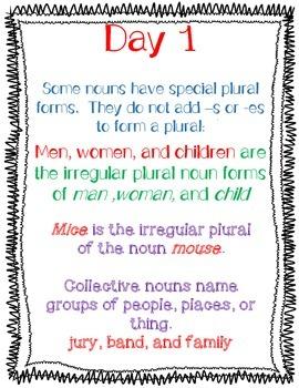 Wonders Grammar Special Nouns Unit 2 Week 3