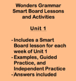 Wonders Grade 3 Grammar Smart Notebook Lessons Unit 1