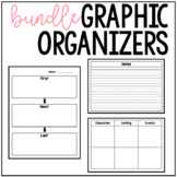 Printable Graphic Organizers BUNDLE