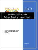 Wonders Guided Reading Lesson Plans for Unit 2