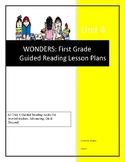 Wonders Guided Reading Lesson Plans for Unit 4