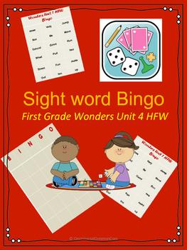 Wonders HFW Unit 4 Bingo