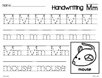 Wonders Handwriting for Kindergarten
