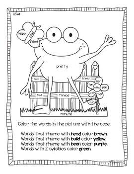 Wonders High Frequency Word Activities Grade 2 Unit 5