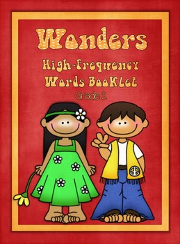 Wonders High-Frequency Word Booklet Grade 2