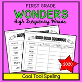 Wonders Sight Words: Cool Tool Spelling - First Grade High Frequency Words