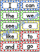 Wonders High Frequency Words / Kindergarten
