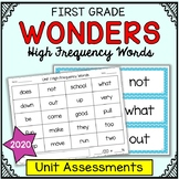 Wonders Sight Words - High Frequency Word Reading Assessme