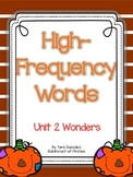 Wonders High Frequency Words Unit 2