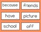 Wonders Unit 2 High Frequency Words  (2nd Grade)