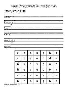 Wonders Homework First Grade - Unit 6