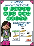 Wonders I Have, Who Has High Frequency Word (Sight Word) Game