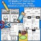Kindergarten Wonders INTERACTIVE NOTEBOOKS {Units 9-10}