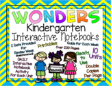 Wonders Interactive Notebook  Daily Activities KINDERGARTEN