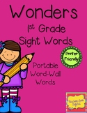 Wonders Interactive Word Wall - Sight Word Resource - First Grade