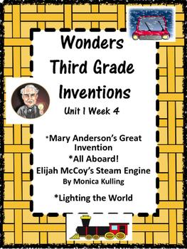 Wonders: Inventions Grade 3 Unit 1 Week 4