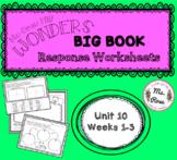 Wonders KG Big Book Worksheets UNIT 10