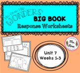 Wonders KG Big Book Worksheets UNIT 7