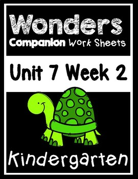 Wonders Kindergarten Centers/Worksheets Unit 7 Week 2 The Birthday Pet