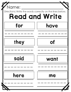 Wonders Kindergarten Centers/Worksheets Unit 8 Week 3