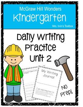 Wonders Kindergarten Daily Writing BUNDLE