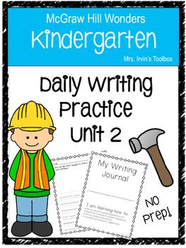 Wonders Kindergarten Daily Writing Unit 2