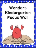 Wonders Kindergarten Focus Wall