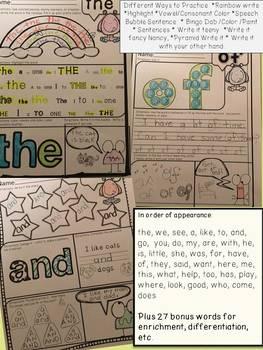 FREEBIE SAMPLER: Word Work: Weekly Practice & More!