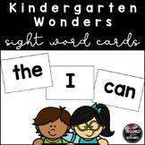 McGraw-Hill Wonders Kindergarten High Frequency Word Cards