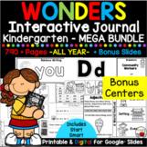 Wonders Kindergarten Interactive Journal MEGA BUNDLE (ALL YEAR)
