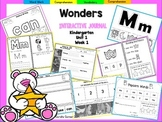 Wonders Kindergarten Interactive Journal Unit 1 Week 1