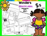 Wonders Kindergarten Interactive Journal Unit 1 Week 3