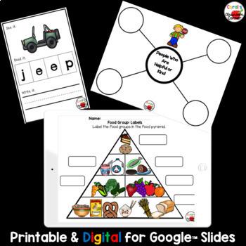 Wonders Kindergarten Interactive Journal Unit 10-Week 2