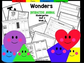 Wonders Kindergarten Interactive Journal Unit 2 Week 2