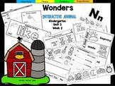 Wonders Kindergarten Interactive Journal Unit 3 Week 2