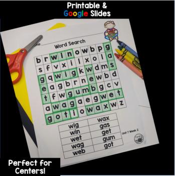 Wonders Kindergarten Interactive Journal Unit 7 BUNDLE